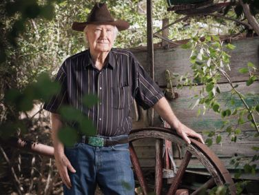 """Forrest Fenn outside his home in Santa Fe, New Mexico. He was considering suicide when he wrote a poem and buried his treasure. """"I was going to die and started making plans."""""""