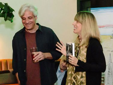 """Alta Books Editor David Ulin and Editor-at-Large Mary Melton celebrate the launch of """"Joan Didion: The 1960s and 70s"""" in Los Angeles."""