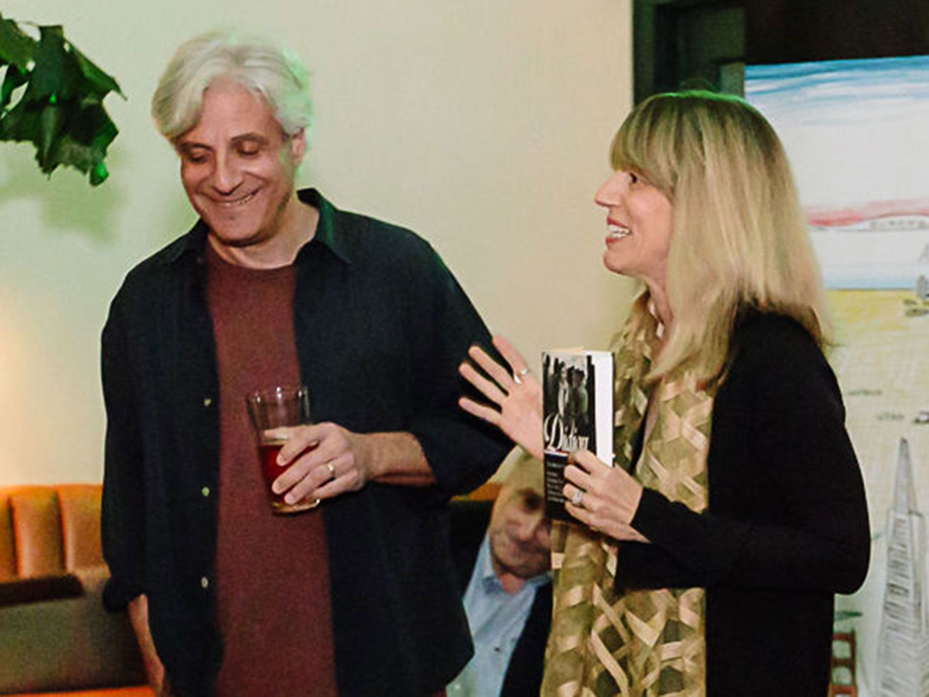 "Alta Books Editor David Ulin and Editor-at-Large Mary Melton celebrate the launch of ""Joan Didion: The 1960s and 70s"" in Los Angeles."