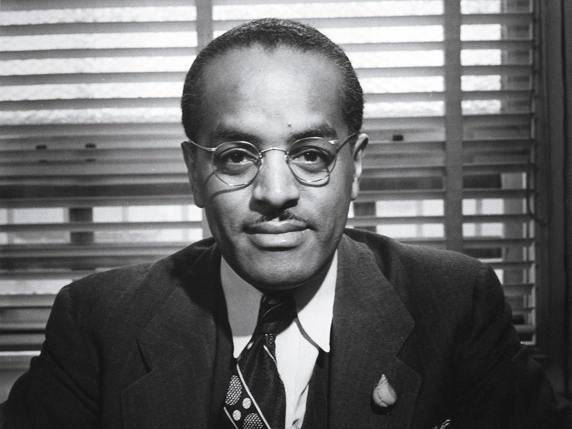 Los Angeles civil rights leader Floyd C. Covington, 1942.