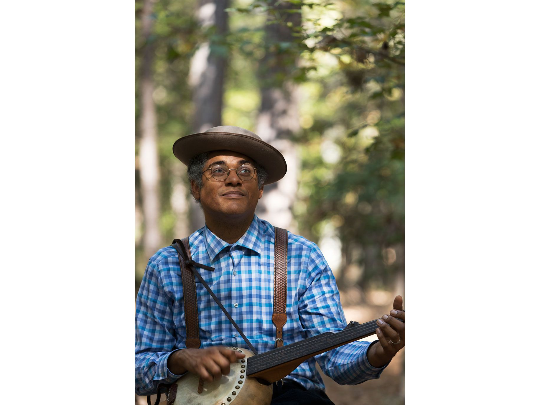 Dom Flemons is inspired by a color-blind pioneer spirit.