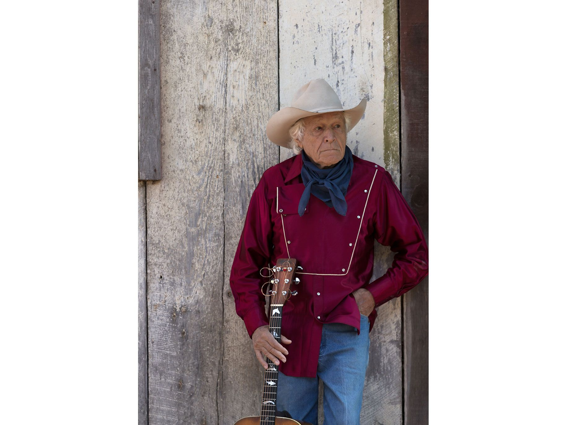 As a teenager, Ramblin' Jack Elliott was introduced to the guitar by a singing clown.