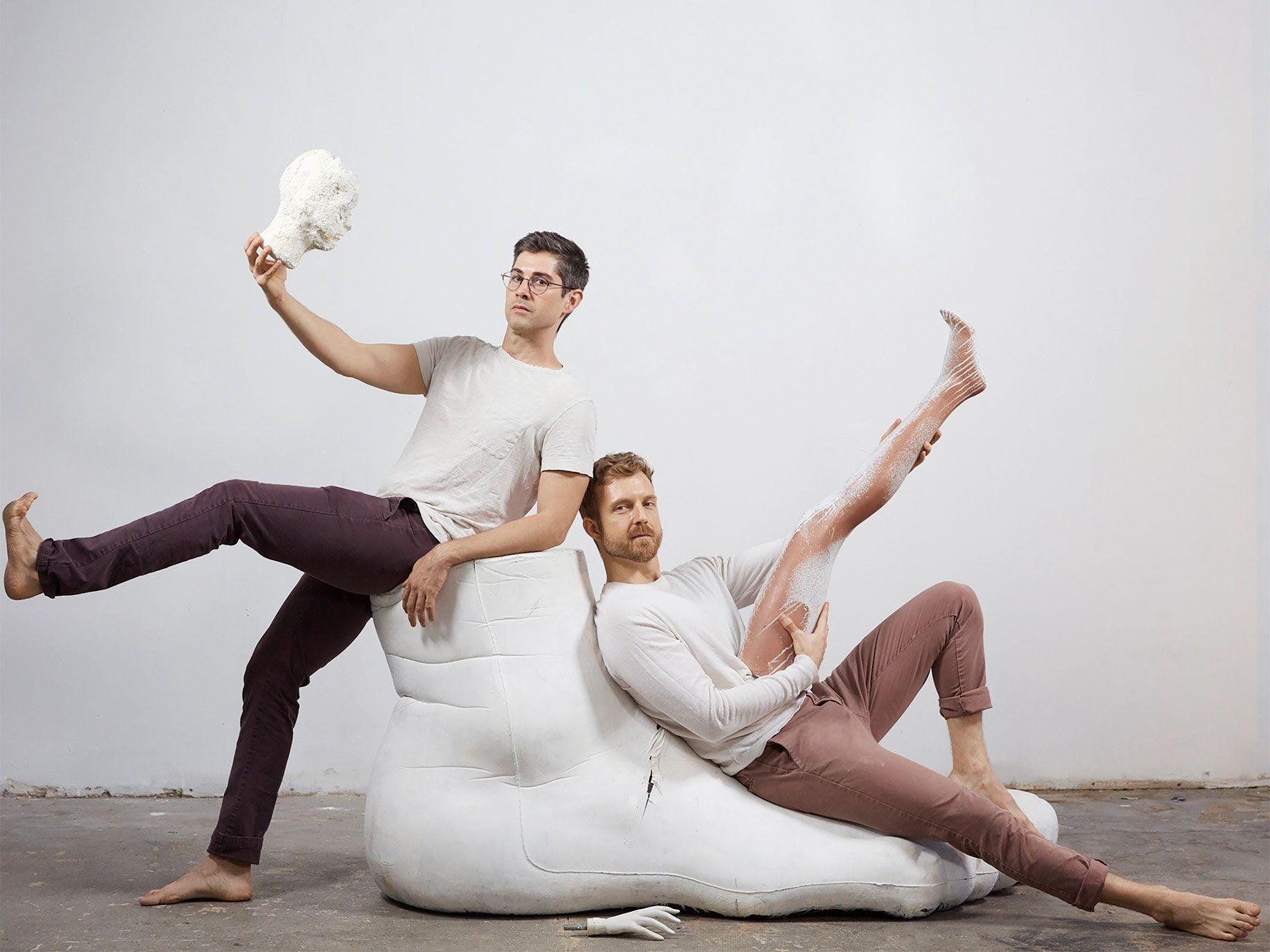 Four Larks cofounders Sebastian Peters-Lazaro (left) and Mat Sweeney.