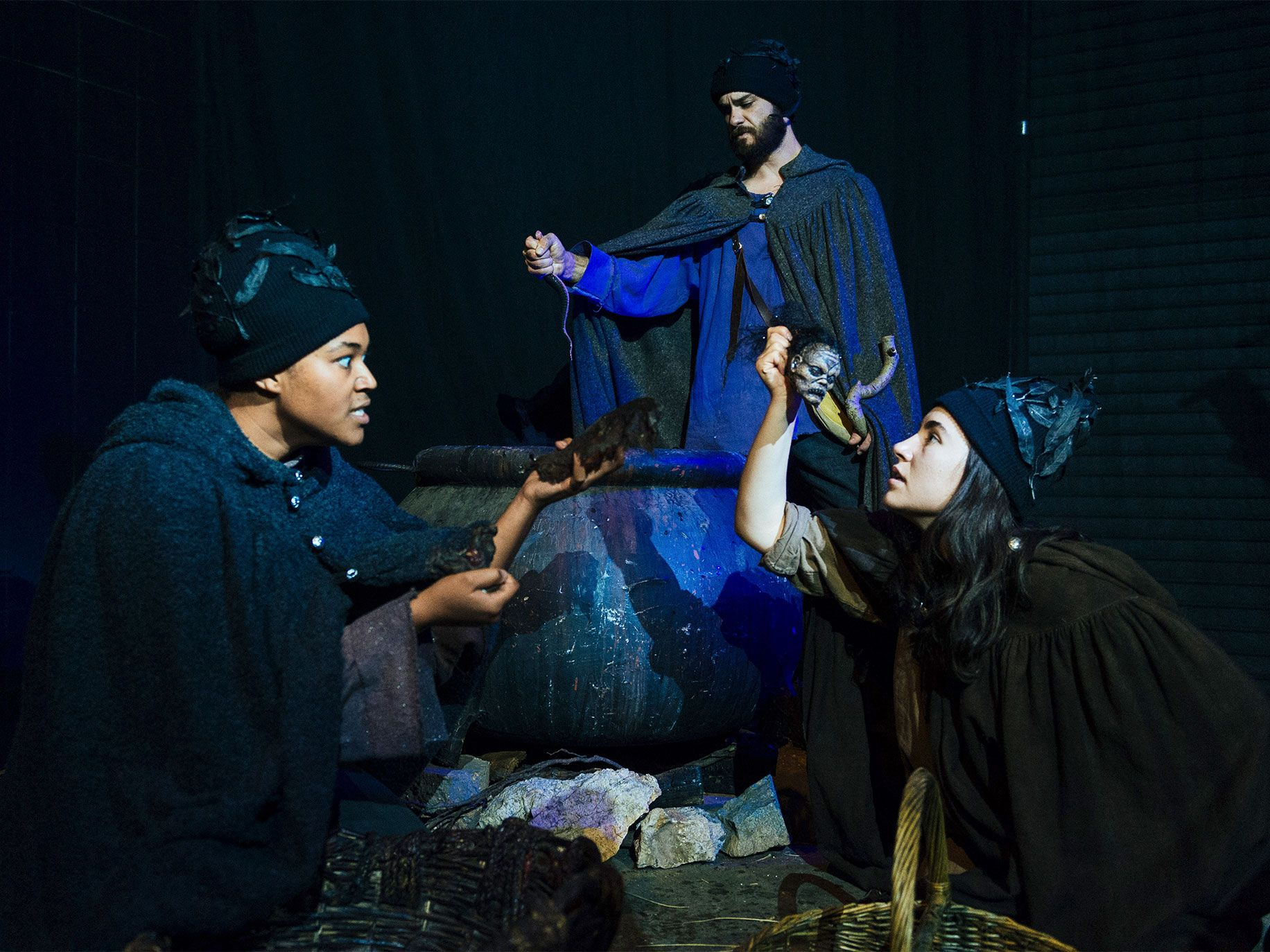 The Shakespeare Center of Los Angeles puts on a gory and immersive production of The Tragedie of Macbeth each year that has proven popular with audiences.