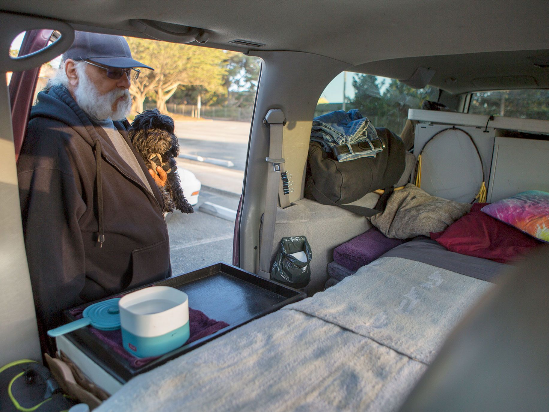 Safe Spaces Available for California's Homeless