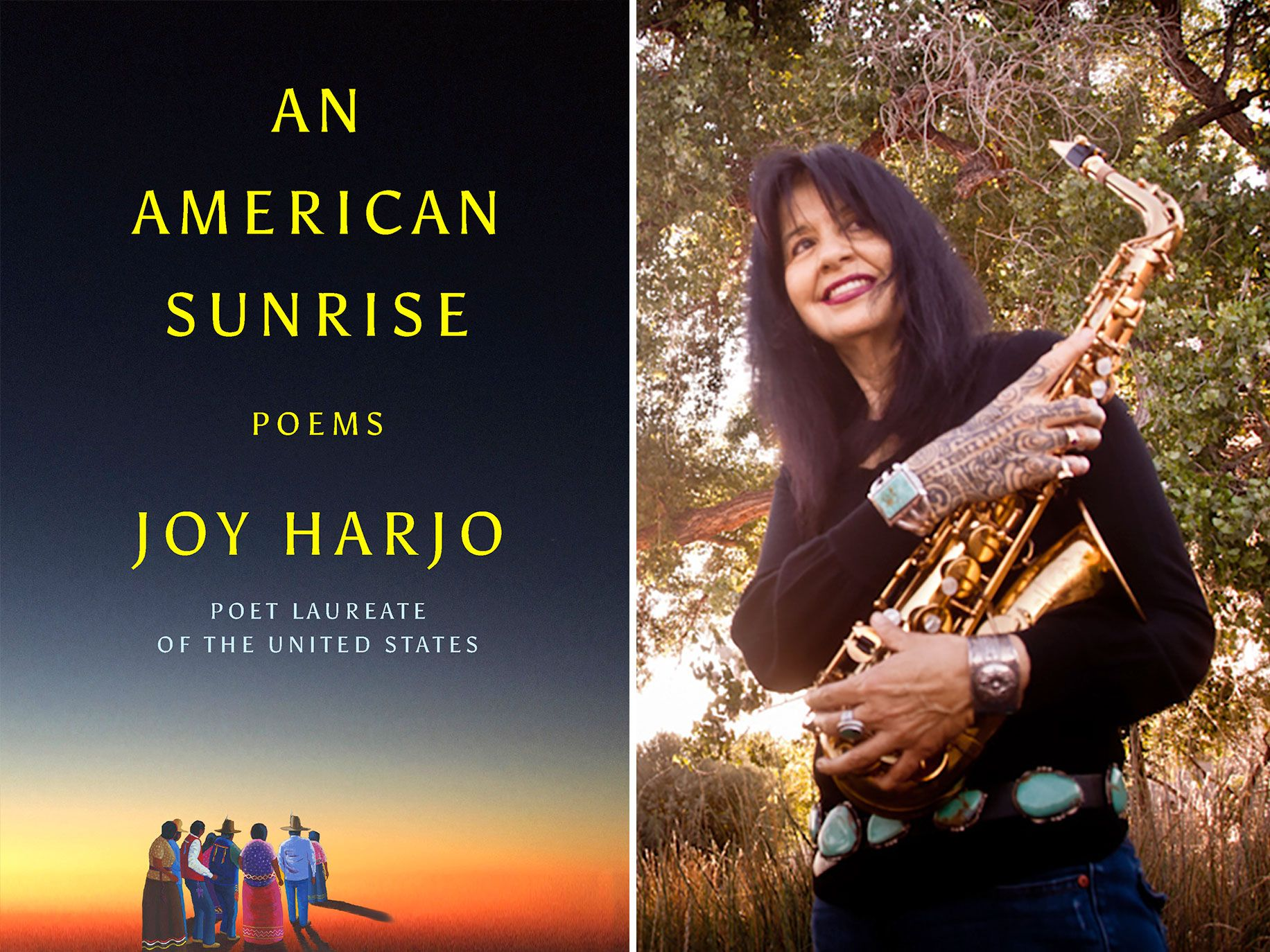 Joy Harjo, author of An American Sunrise, is the first Native American poet laureate of the United States.