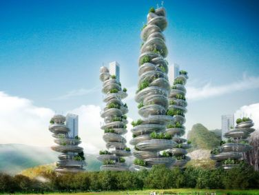 "Vincent Callebaut evolves skyscrapers into eco-friendly ""farmscrapers."""