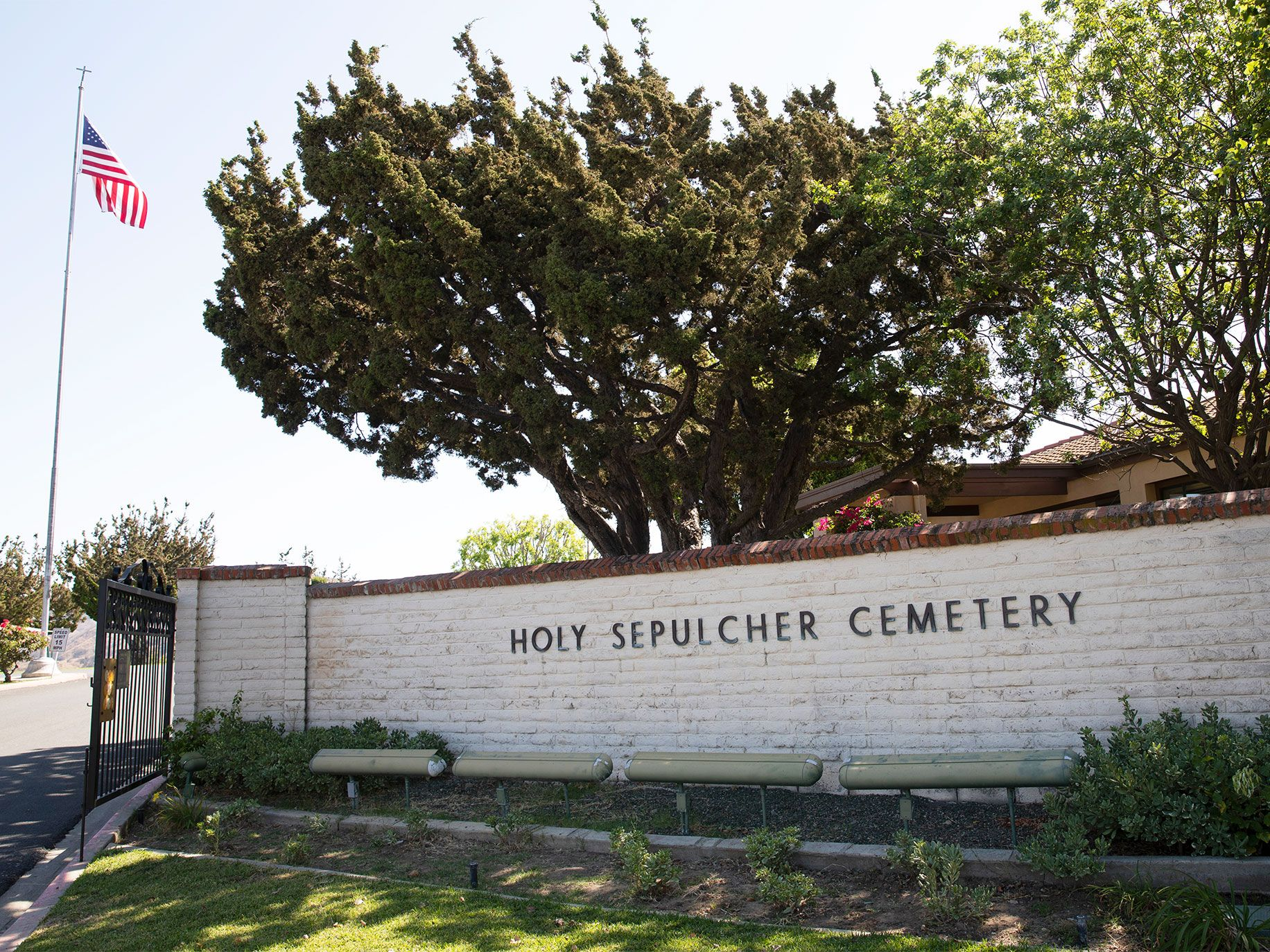 Juan Peña Diaz was buried more than 65 years ago by his brother in an unmarked site at Holy Sepulcher Cemetery in Orange, California.