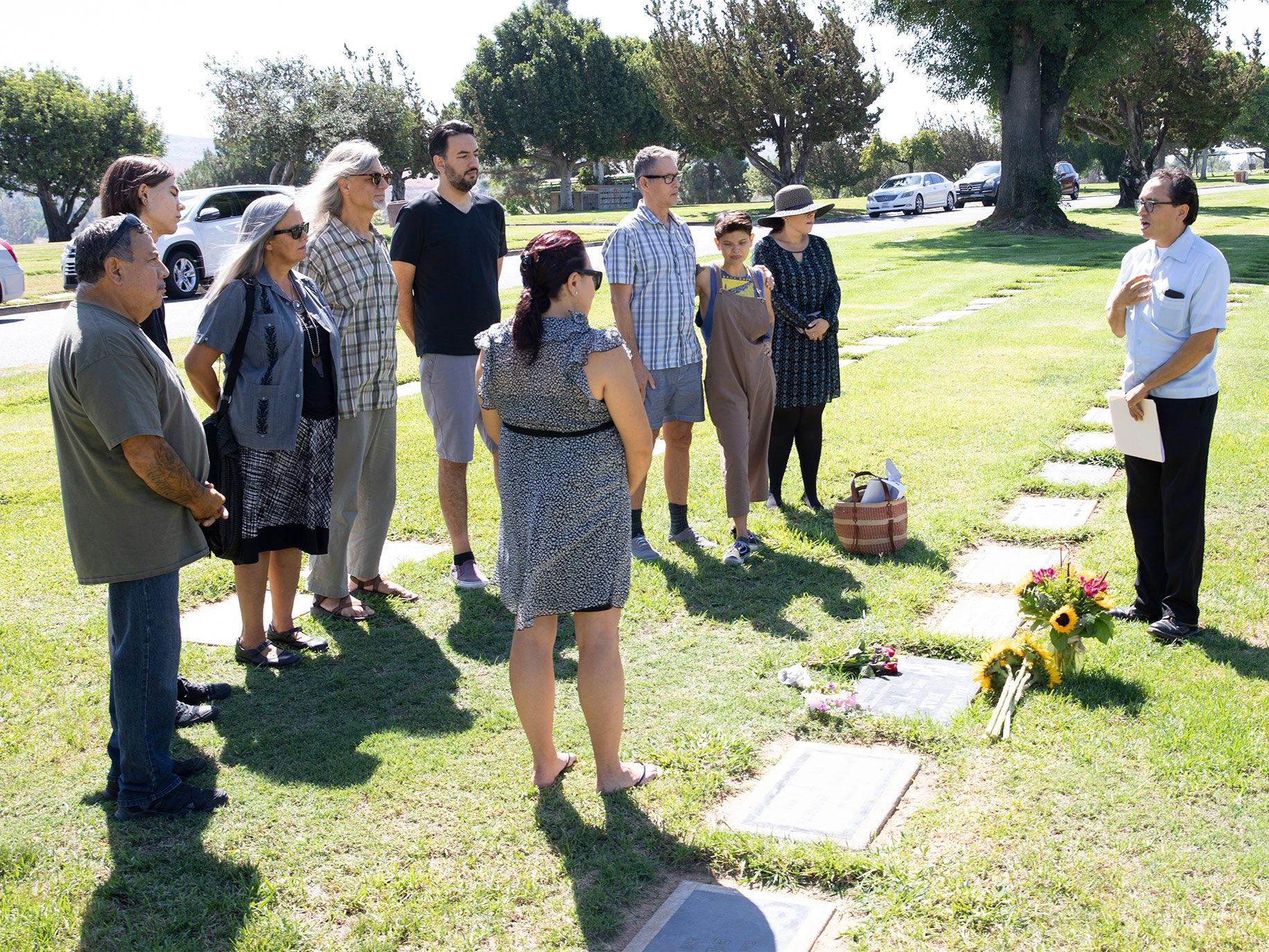 "A group of mourners, led by Alta contributing editor Gustavo Arellano, gathered on September 14, 2019, to commemorate the passing of Juan Peña Diaz, the unknown ""wetback."""