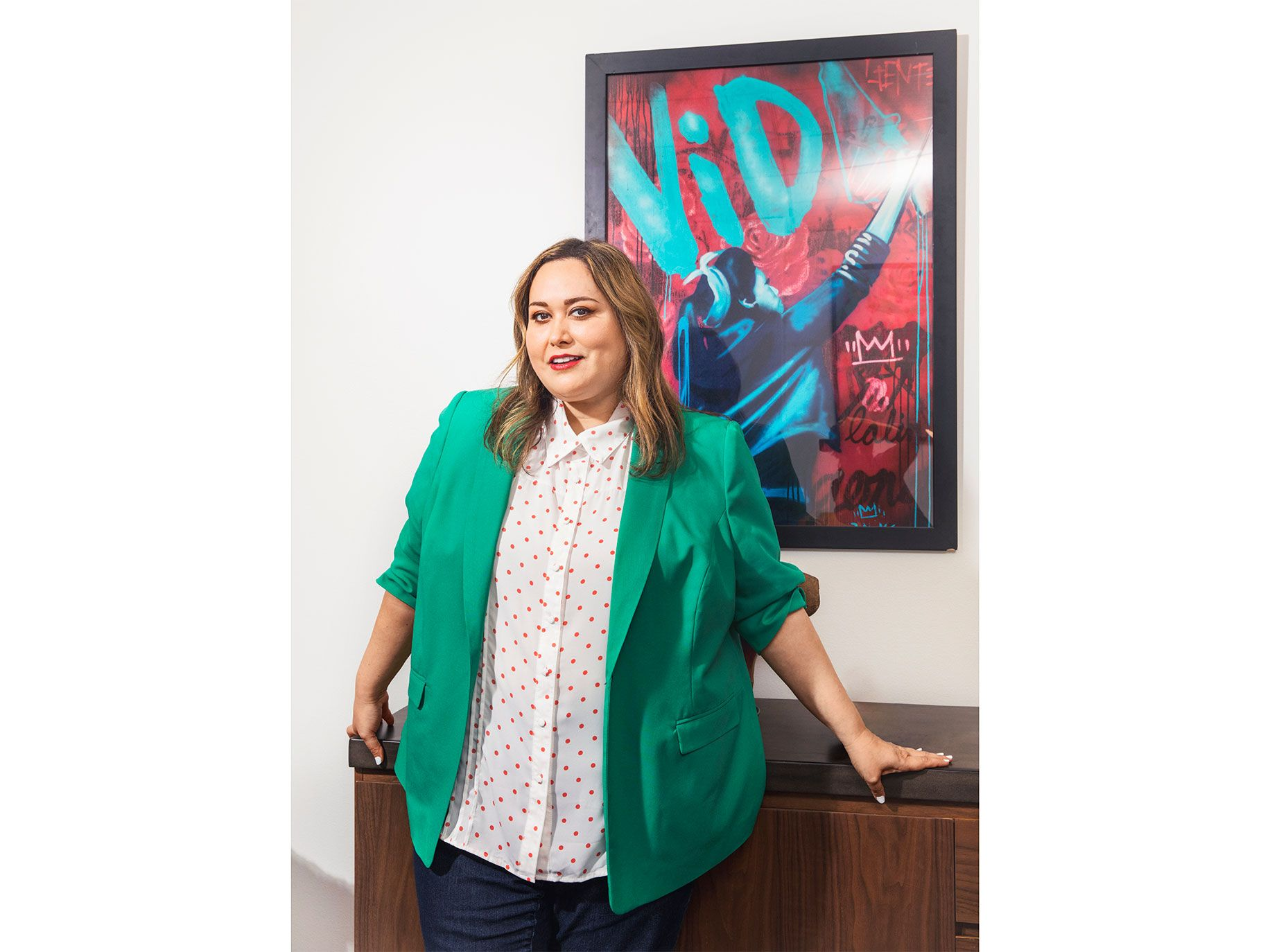 In television, Tanya Saracho started writing for hits like How to Get Away with Murder before creating her own series, Vida, on Starz.