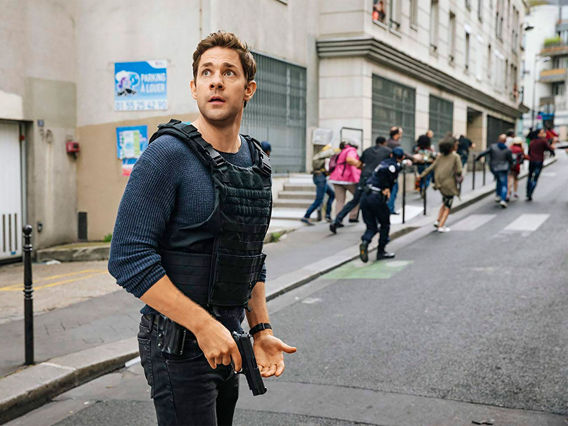 John Krasinski is the latest Tom Clancy's Jack Ryan season.