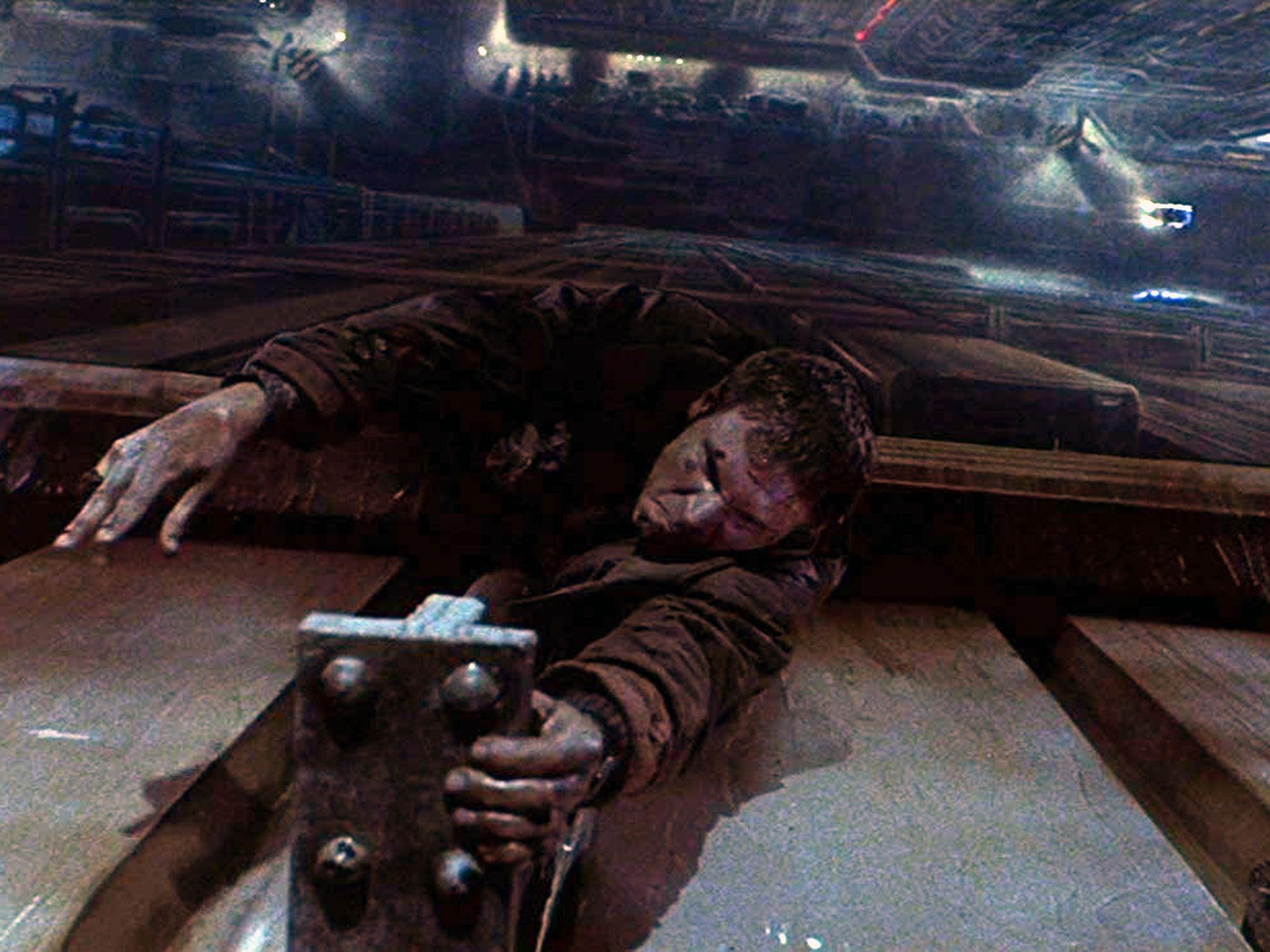Harrison Ford as Rick Decker in the 1982 film Blade Runner.