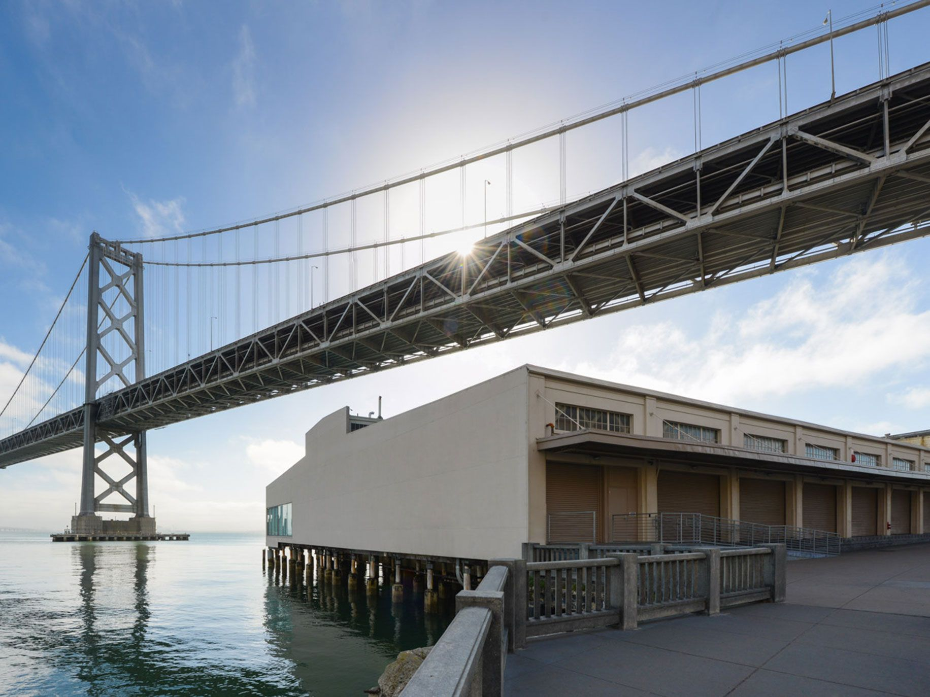 Pier 24 Photography is located along San Francisco's popular Embarcadero.