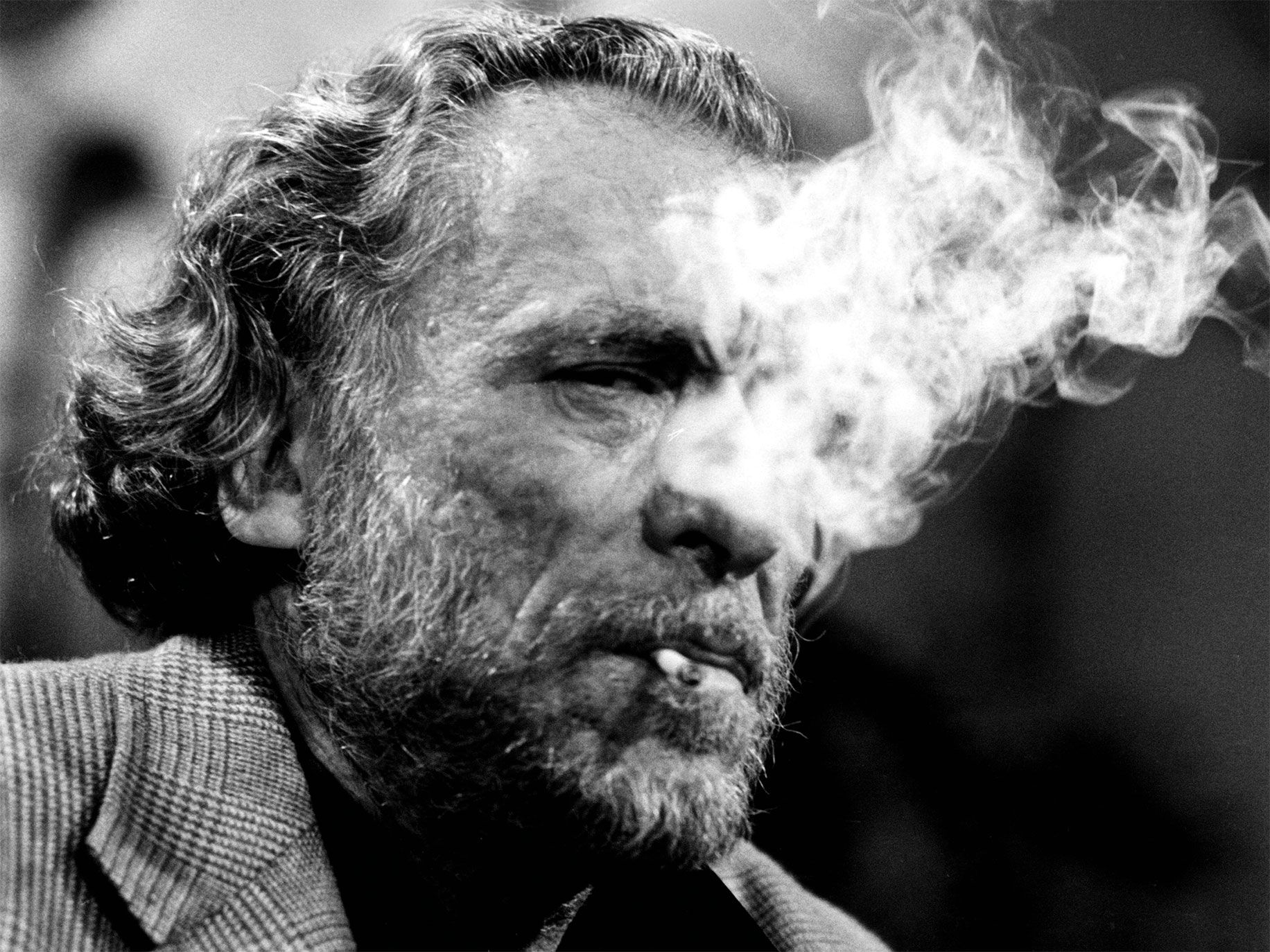 Charles Bukowski's fiction and poetry often explored the lives of those on L.A.'s Skid Row. He remains a popular, if controversial, writer 26 years after his death.