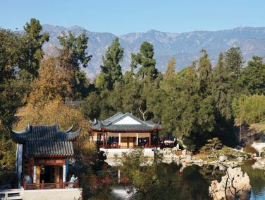 It took 25 years to complete the Huntington's Chinese garden, which occupies the largest swath of the institution's 120 acres.