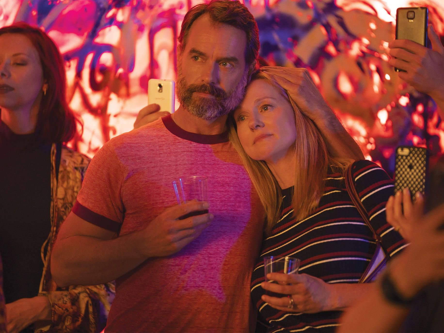 Actor Murray Bartlett joined original miniseries cast member Laura Linney in last year's version of the show, which streamed on Netflix.