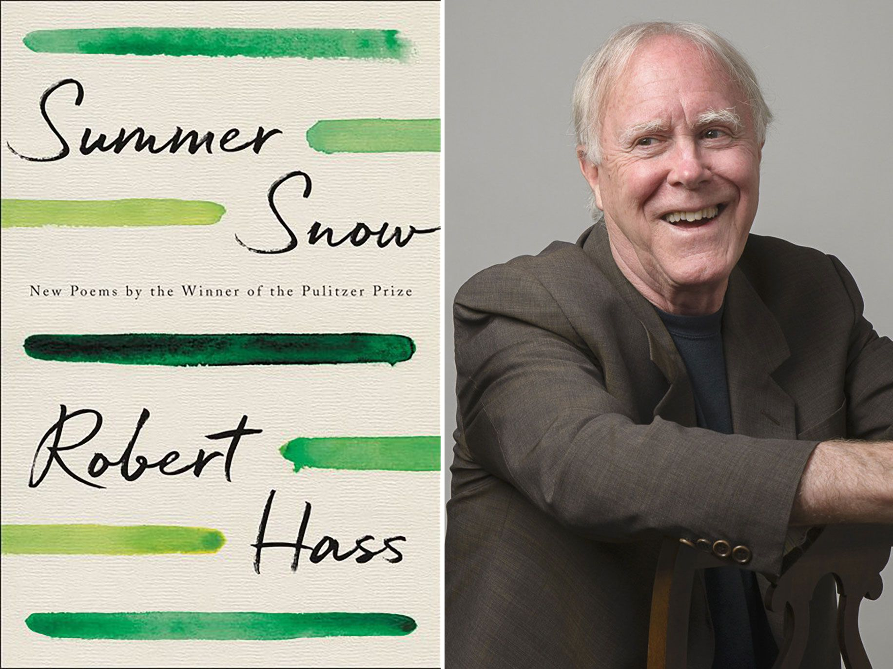 Summer Snow: New Poems by Robert Hass, Ecco, 192 pages, $27.99.