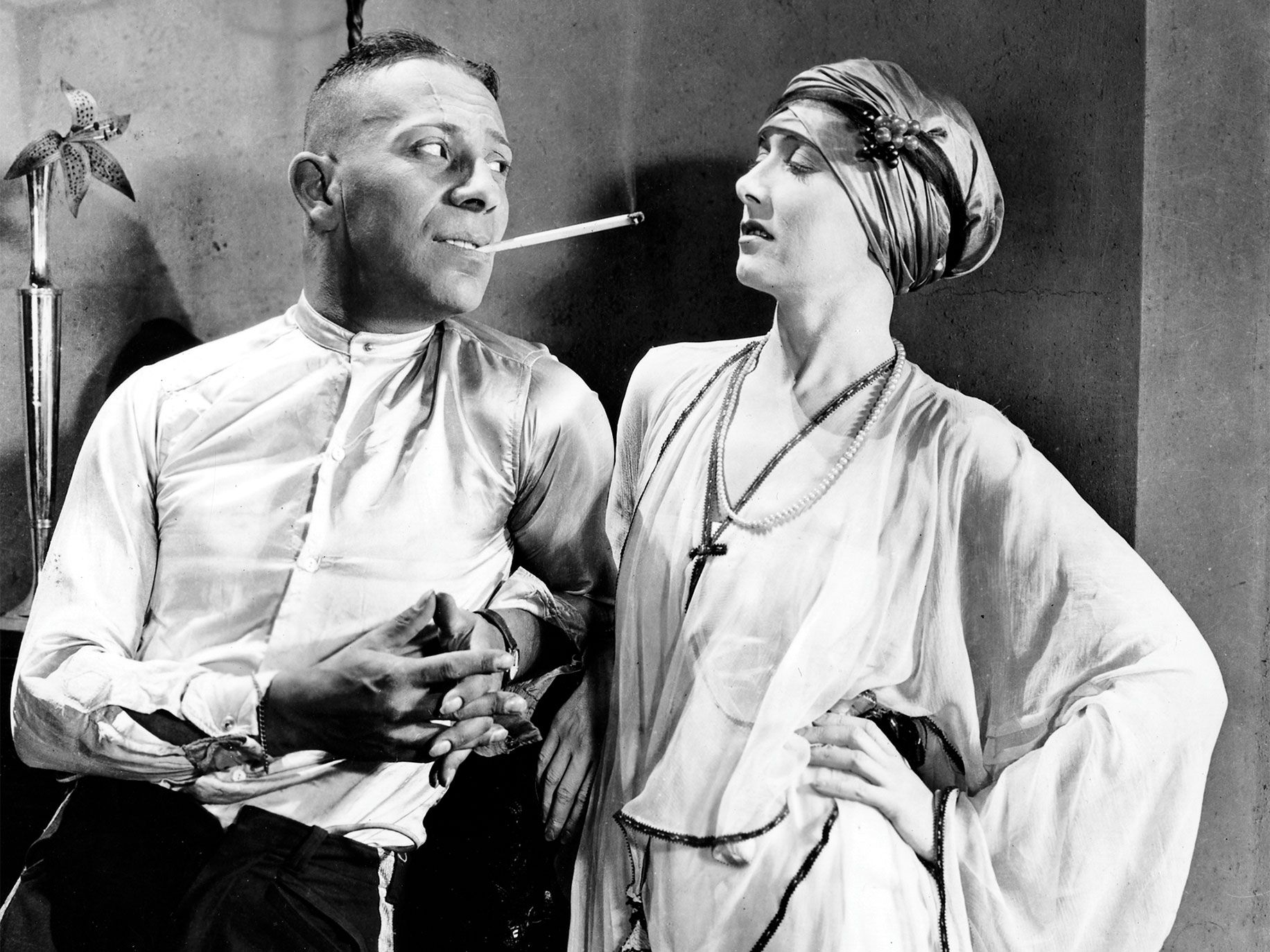 Erich von Stroheim and Miss DuPont in Foolish Wives (1922). A restored version of this masterpiece will premiere at this year's San Francisco Silent Film Festival.