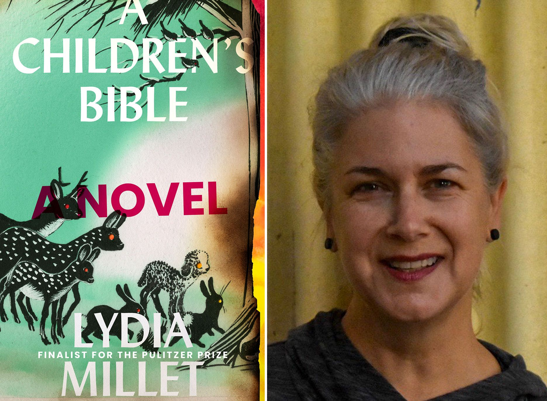 """A Children's Bible"" author Lydia Millet is a longtime environmentalist who works at the Center for Biological Diversity in Tucson."