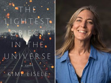 "In a surprising coincidence, the cover image for ""The Lightest Object in the Universe"" looked eerily like a piece of artwork Kimi Eisele had made for her book — and never showed anyone."