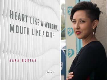 "Sara Borjas's poems ask, ""How do I decenter whiteness in my desires and begin to decolonize my life, starting with my love?"""