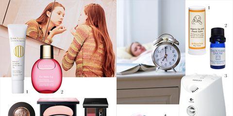 Product, Pink, Purple, Lavender, Beauty, Peach, Magenta, Violet, Measuring instrument, Clock,
