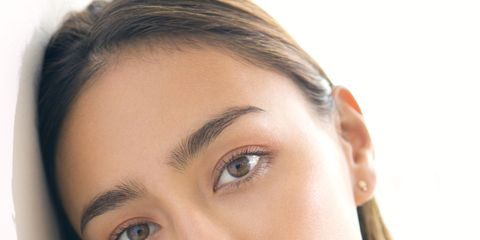 Hair, Face, Lip, Eye, Hairstyle, Skin, Forehead, Shoulder, Eyelash, Eyebrow,
