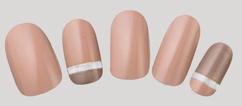 Nail, Pink, Skin, Finger, Cosmetics, Peach, Beige, Material property, Nail polish, Nail care,