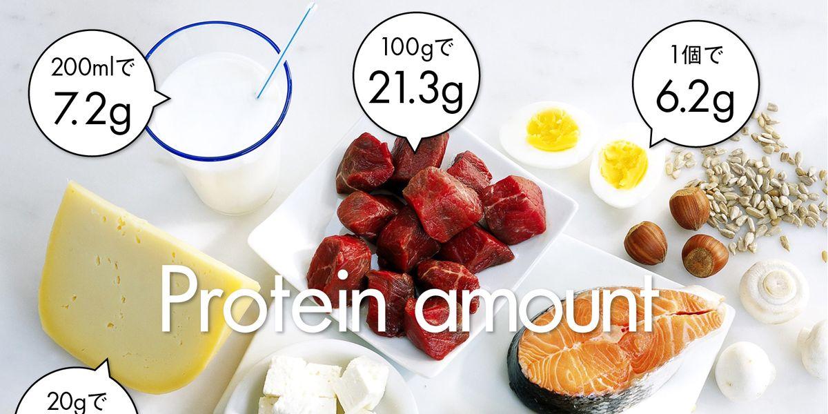 摂取 量 タンパク質