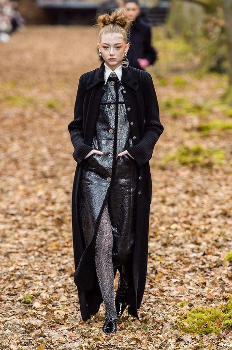Jacket, Fur, Leather, Street fashion, Fashion model, Cloak, Fashion design, Mantle, Leather jacket, Cape,