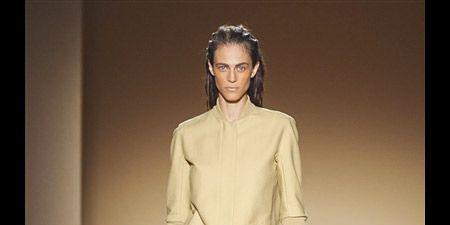 Clothing, Sleeve, Shoulder, Fashion show, Human leg, Joint, Fashion model, Style, Runway, Dress,