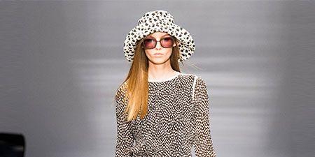 Clothing, Sleeve, Shoulder, Dress, Fashion show, Style, Fashion model, Pattern, Street fashion, One-piece garment,