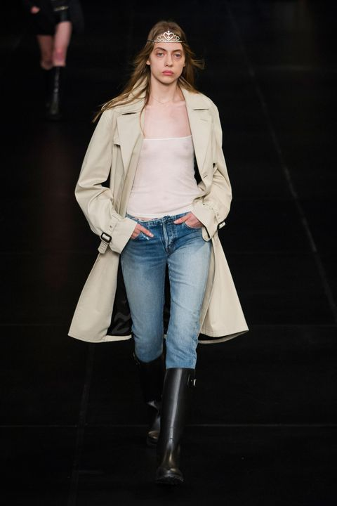 Clothing, Sleeve, Denim, Jeans, Textile, Joint, Outerwear, White, Jacket, Style,