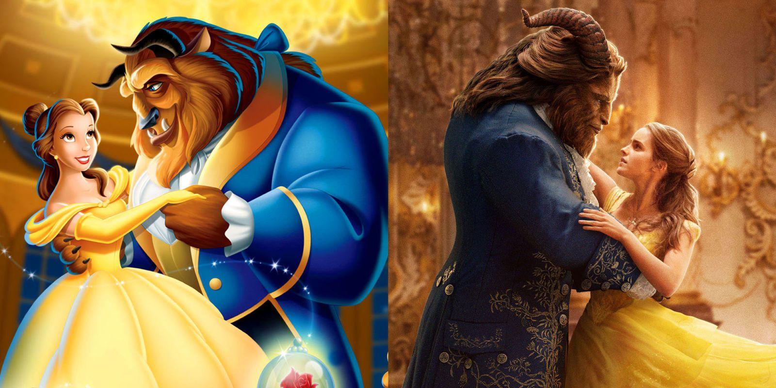 実写版『美女と野獣』はディズニーアニメ版とここが違う