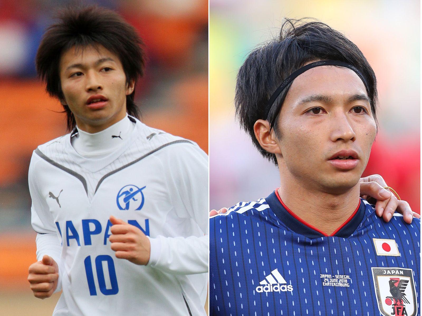 個性が爆発! 歴代サッカー代表選手のキャラ立ちヘア、ビフォア ...