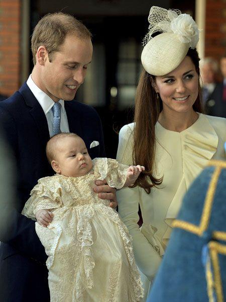 ジョージ王子の洗礼式にロイヤル...