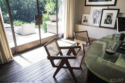 Floor, Interior design, Flooring, Table, Furniture, Room, Hardwood, Picture frame, Interior design, Glass,