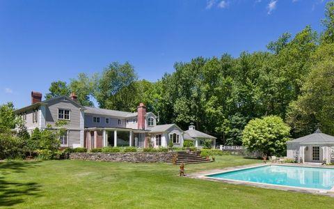 Property, Home, House, Estate, Real estate, Building, Residential area, Natural landscape, Yard, Land lot,
