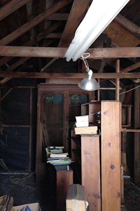 Room, Attic, Beam, Wood, Building, Loft, House, Log cabin,