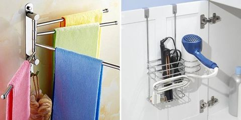 Shelf, Shelving, Room, Wall, Bathroom, Bathroom accessory, Kitchen, Tile, Furniture, Material property,
