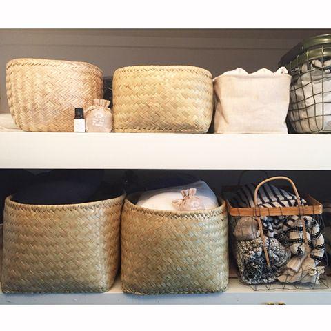 Brown, Tan, Home accessories, Beige, Wicker, Throw pillow, Cushion, Basket, Pillow, Storage basket,