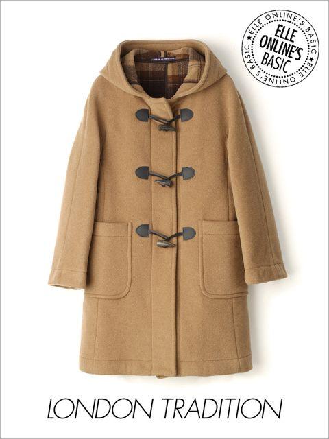 Coat, Brown, Sleeve, Collar, Textile, Outerwear, Khaki, Tan, Fashion, Pattern,