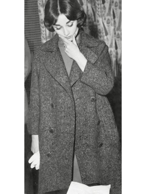Collar, Sleeve, Coat, Style, Formal wear, Blazer, Dress shirt, Overcoat, Button, Vintage clothing,