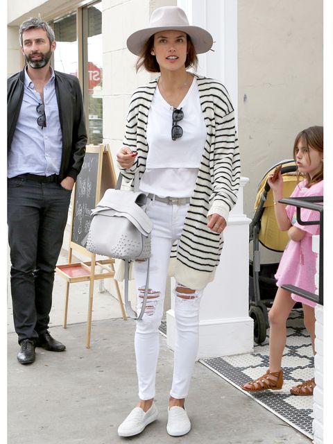 Clothing, Footwear, Leg, Trousers, Shoulder, Textile, Hat, Shoe, Outerwear, White,