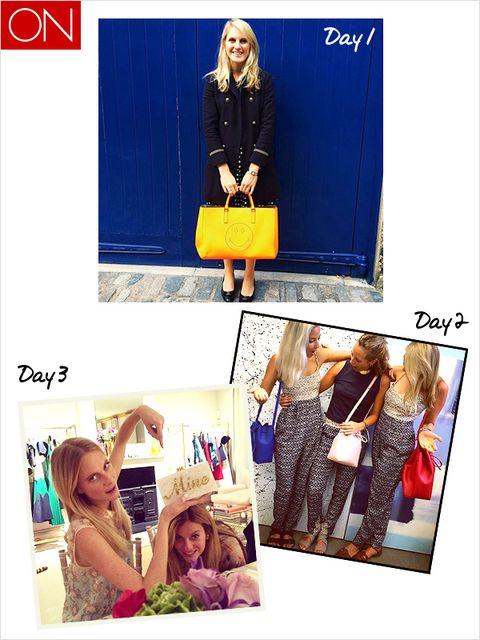 Clothing, Human, Photograph, Style, Dress, Fashion, Street fashion, Pattern, Electric blue, Collage,