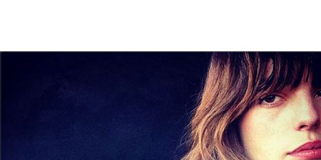 Lip, Mammal, Beauty, Eyelash, Publication, Brown hair, Long hair, Electric blue, Blond, Feathered hair,