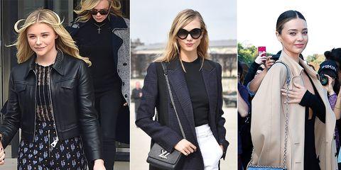 c587d6de88ec 2015年春夏コレクションの新作バッグをいち早く携えたファッションアイコンのセレブたちは只今、どんなアイテムにご執心中? 最旬のデザインと、新定番アイテムとして  ...