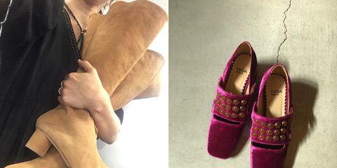 Purple, Magenta, Fashion, Tan, Natural material, Jewellery, Beige, Lavender, Safety glove, Fashion design,