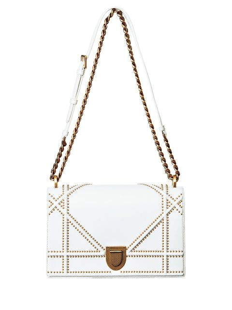 Tan, Beige, Triangle, Scale, Shoulder bag, Leather,
