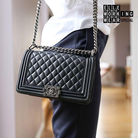 Product, White, Bag, Style, Fashion, Shoulder bag, Black, Street fashion, Material property, Metal,